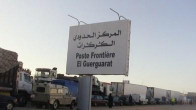 صورة البوليساريو تدعو مجلس الأمن الى غلق معبر الكركرات