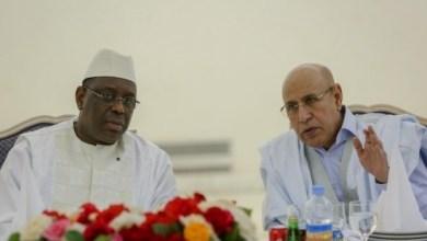 صورة توقيع العديد من الإتفاقيات بين موريتانيا والسينغال