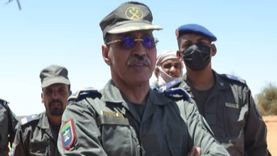 صورة الحرس الوطني يحظر تنقل أفراده اثناءفترة حظر التجول (مذكرة )