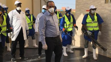 صورة نواذيبو: اتحادية الصيد للسماكين والمصدرين والموزعين والمجمعين تشارك في مكافحة فيروس كورونا