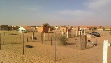 صورة إغلاق قريتين في ولاية أترارزة بعد تأكيد إصابات بفيروس كورونا