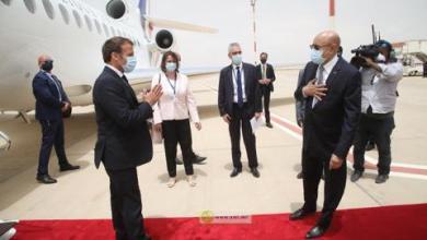 صورة ماكرون : وجودي في نواكشوط إلتزام اتجاه افريقيا والساحل وموريتانيا