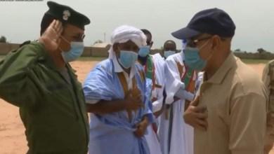 صورة تعيين العقيد محمد يبر ولد أمينو مديرا للمصادر البشرية بقيادة أركان الدرك الوطني