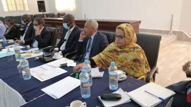 صورة أنواذيبو : انطلاق فعاليات الإجتماع الوزاري مع رجال الأعمال حول المنطقة الحرة.. (صور)