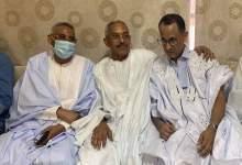 صورة السيناتور السابق محمد ولد غده يشيد بشجاعة وشهامة رجل الأعمال محمد ولد أشريف