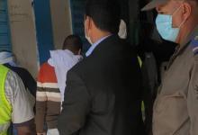 صورة إغلاق عدة متاجر بنواكشوط الغربية نتيجة لعدم تطبيق الإجراءات الاحترازية