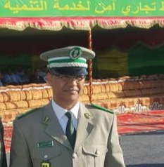 صورة العقيد  خالد ولد السالك عنوان الكفاءة والتجربة الغنية