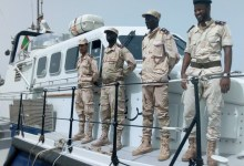 صورة خفر السواحل الموريتاني يوقف 60 مهاجرا قرب مدينة نواذيبو