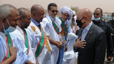صورة عمد الحوض الغربي : ما أنجزه فخامة الرئيس محمد ولد الشيخ الغزواني في عامين كاف لإستشعار غد مشرق لموريتانيا