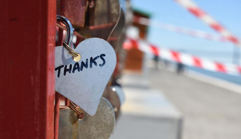 Sense of gratitude and the relation of calmness