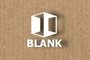 Logo Blank Verpackungsmittelhandel
