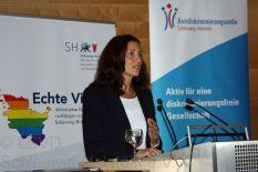 Samiah El Samadoni, Leiterin der Antidiskriminierungsstelle Schleswig-Holstein