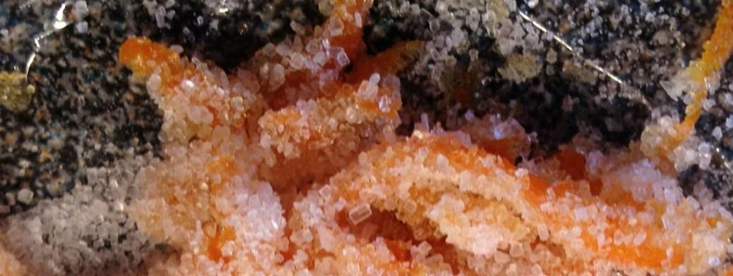 Orangen-Zucker-Tarte
