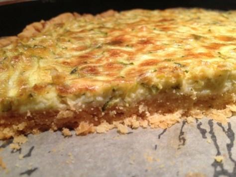 Quiche mit Zucchini - Echtes Essen
