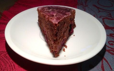 EchtesEssen Rotweinkuchen mit Kirschen Springform IMG_5389