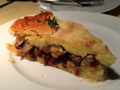 Kartoffel-Champignon-Pflaumen-Torte-Rezept