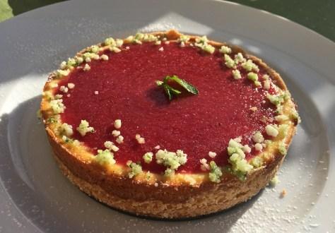 Kaesekuchen mit Frischkaese und Erdbeeen-IMG_8924.JPG