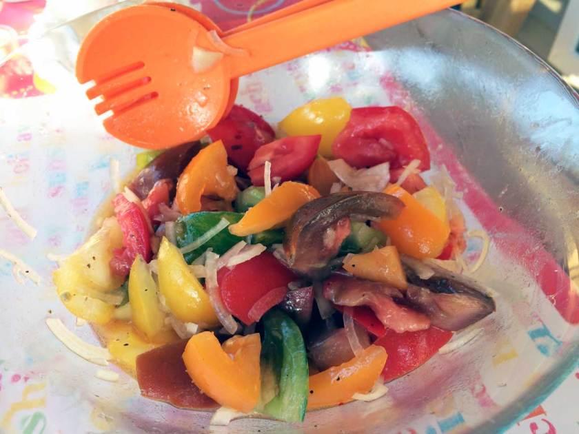 tomatensla recept