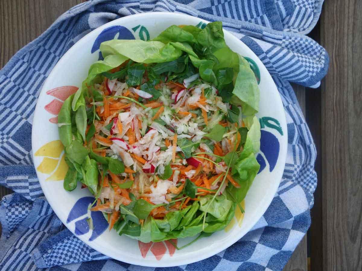 salade met radijs