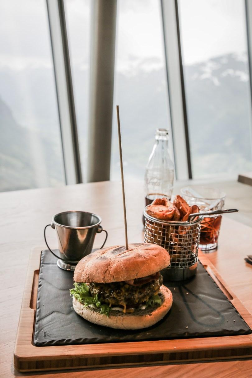Loens Skylift Seilbahn Norwegen Burger