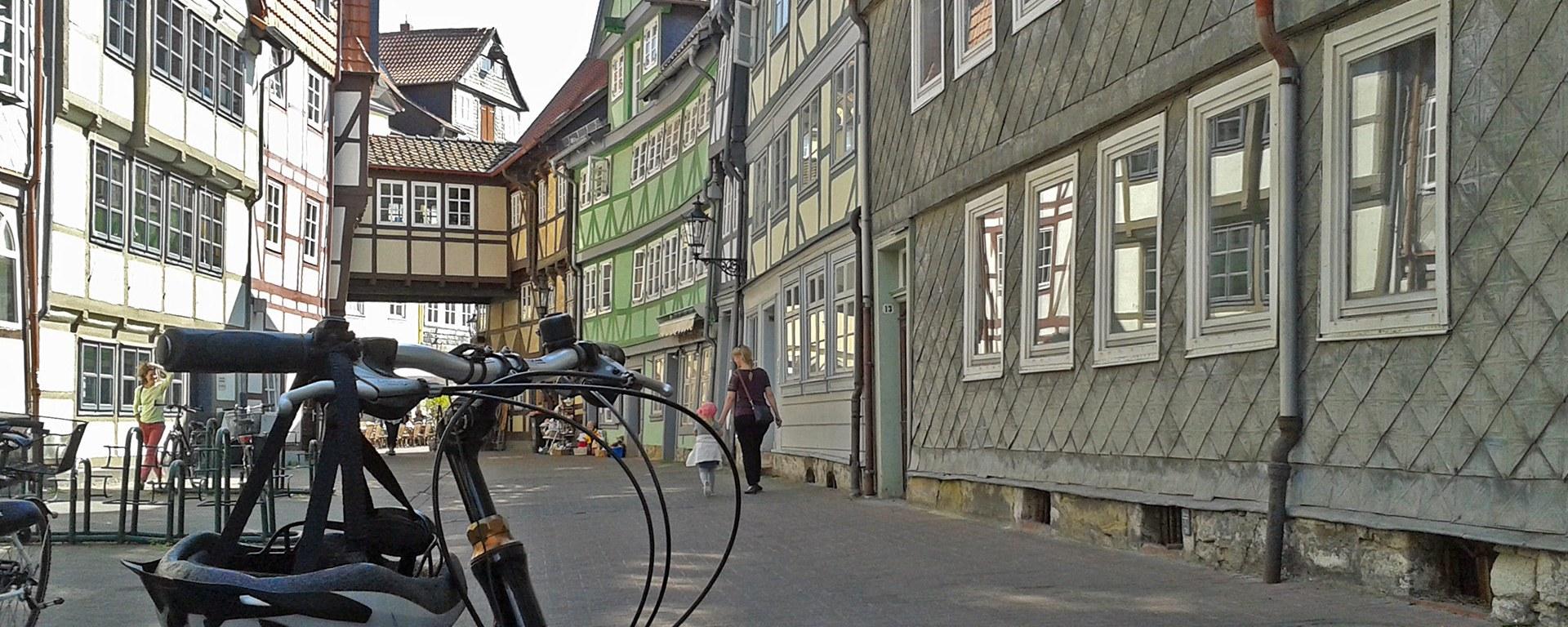 Fahrrad im Kleinen Zimmerhof