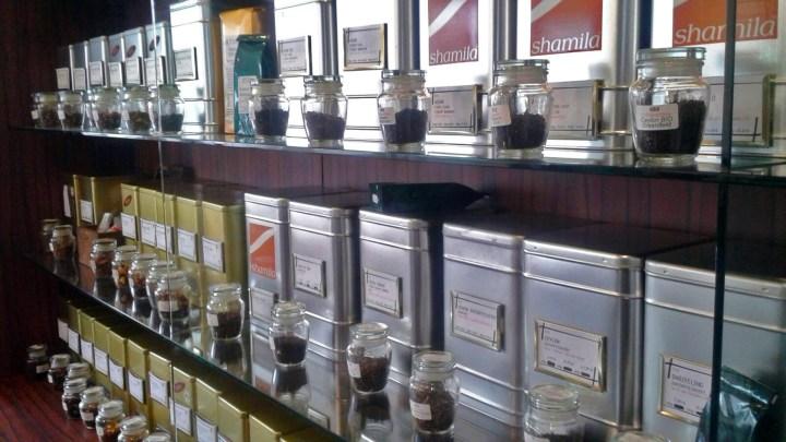 Vielfältige Teeauswahl im Teehaus Wolfenbüttel