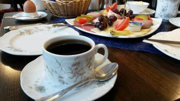 Kaffee im Café am Stadtmarkt