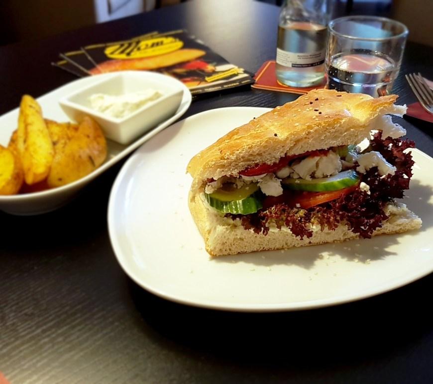 Fladenbrot bei Mom´s Burger