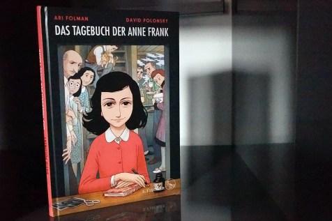 Titelseite des Anne Frank Buchs