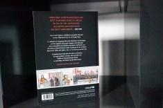Rückseite des Anne Frank Buchs