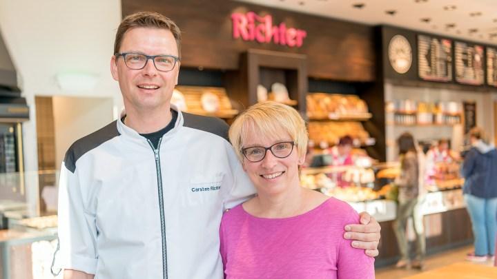 Carsten und Bettina Richter von der Altstadtbäckerei Richter