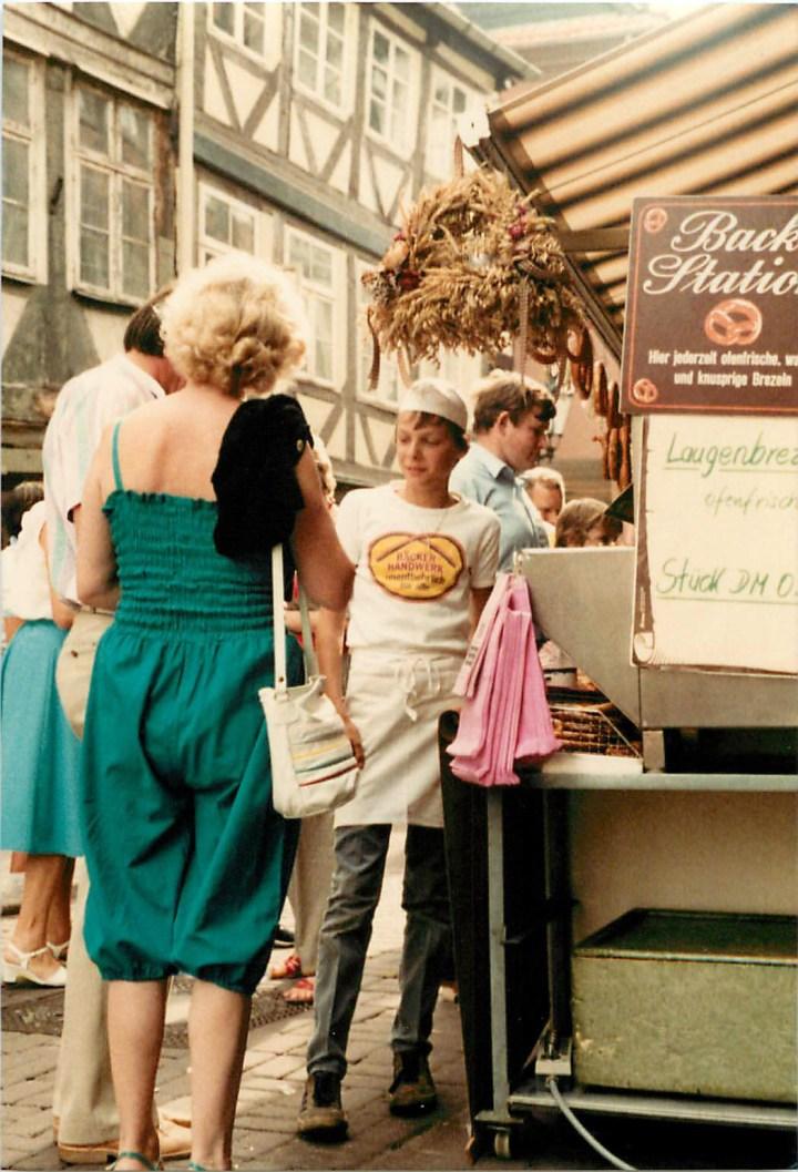 Früh übt sich… Carsten Richter 1982 auf dem Altstadtfest. (Bild Richter)