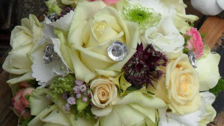 Der Brautstrauß ist das Produkt, von dem alles ausgeht.