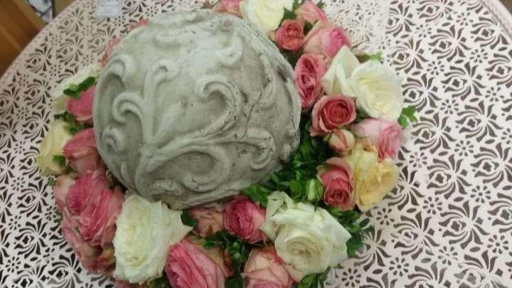 Tischdeko von Blütenzauber.
