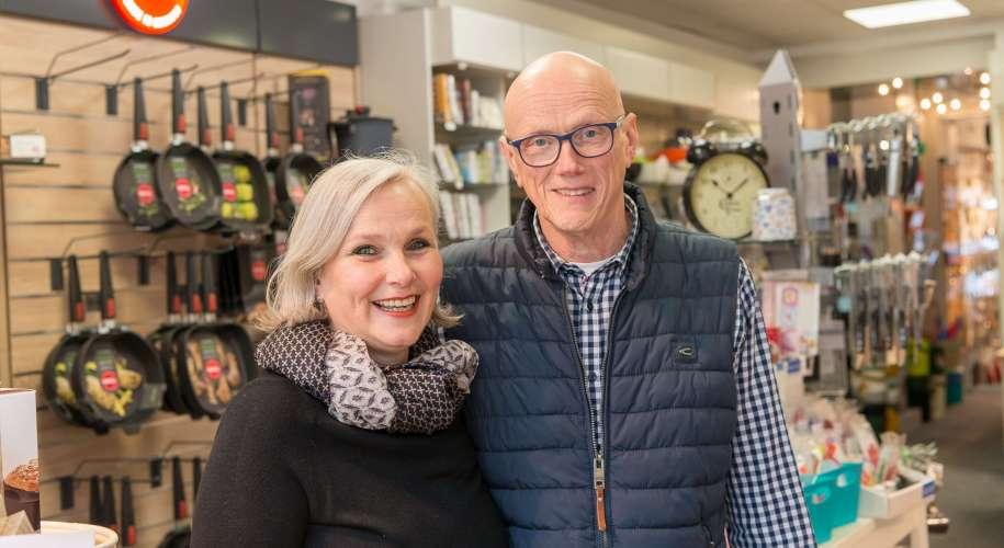 Christiane und Uwe Thomas von der Vitrine.