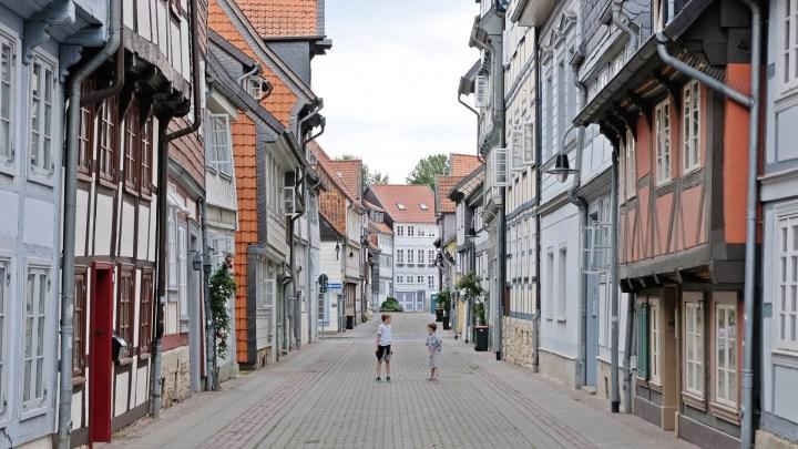 Krumme Straße in Wolfenbüttel