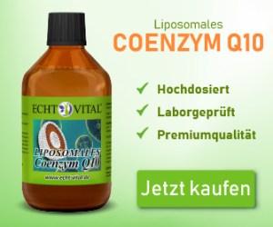 ECHT VITAL LIPOSOMALES COENZYM Q10 - 1 Flasche mit 250 ml
