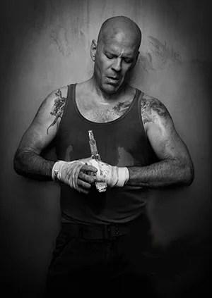 Bruce Willis vaping