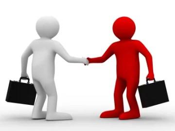 handshake meeting