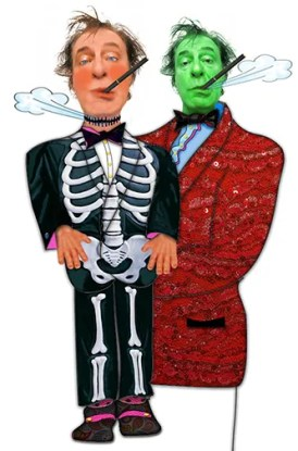 Chucky Chester and Little Chucky vaper testers Halloween costurmes