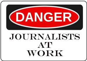 Danger Journalists at Work - E-Cigarette News