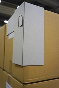 Faltbarer Ecken- und Kantenschutz um Beschädigungen zu Vermeiden