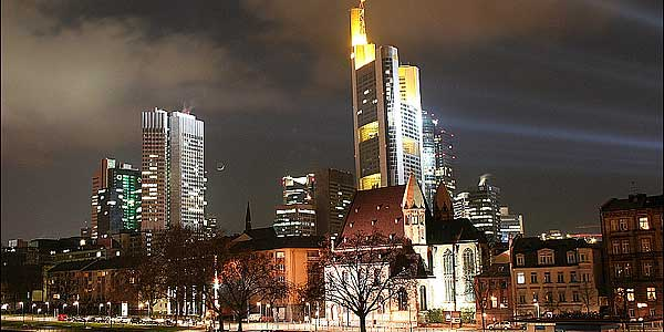 Commerzbank-Tower in Frankfurt