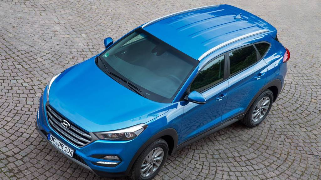 Bild des SUV-Modells Hyundai Tuscon: Der Konzern will bald deutlich mehr SUV-Modelle im Angebot haben