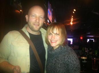 Kyle Noe and Sandra Allen