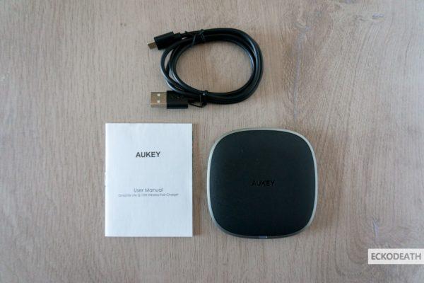 Aukey LC-C6 unboxing-2-min