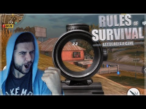 MOBILE BATTLE ROYALE RULES OF SURVIVAL TOP 10 SITUATION