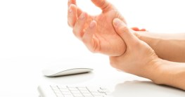 ergonomisches Mousepad gegen Handgelenk Schmerzen