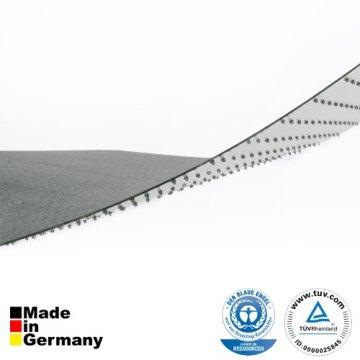 Bodenschutzmatte PET ®Performa für Teppichböden mit TÜV und Blauer Engel - 4 Größen wählbar - 92x122cm -