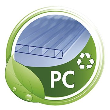 Floordirekt PRO - 16 Größen zur Wahl - Polycarbonat Bodenschutzmatte transparent mit TÜV für Hartböden -